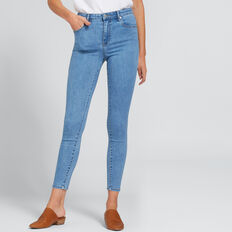 High Waist Skinny Jean  CLASSIC DENIM  hi-res