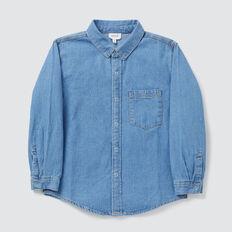 Chambray Shirt  VINTAGE BLUE WASH  hi-res
