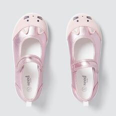 Toddler Novelty Mary Jane  PINK  hi-res