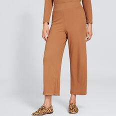 Plaxed Textured Pant  VINTAGE BRONZE  hi-res