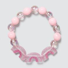 Rainbow Bead Bracelet  MULTI  hi-res