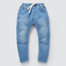 Carrot Denim Terry  FADED BLUE WASH  hi-res