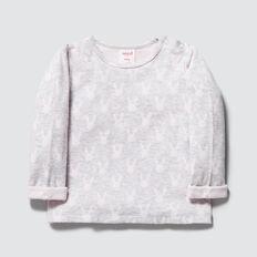 Bunny Knit Tee  CLOUD  hi-res