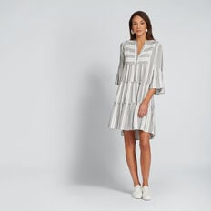 Striped Mini Dress  MULTI STRIPE  hi-res