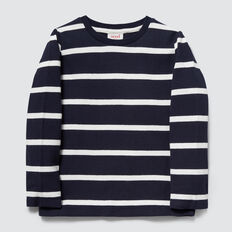 Rugby Tee  MIDNIGHT BLUE STRIPE  hi-res