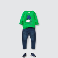 Bunny Chenille Sweater  RETRO GREEN  hi-res