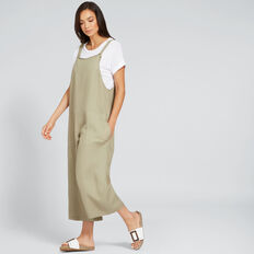 Patch Pocket Overall  WASHED OLIVE  hi-res