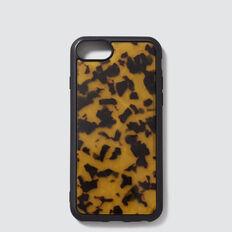 Resin Phone Case 6/7/8  DARK TORT  hi-res