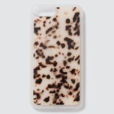 Resin Phone Case 6+/7+/8+  LIGHT TORT  hi-res