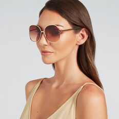 Audrina Metal Sunglasses  GOLD  hi-res