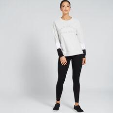 Full Length Legging  BLACK  hi-res