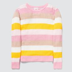 Stripe Rib Sweater  MULTI  hi-res