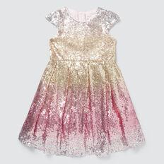 Sequin Ombre Dress  MULTI  hi-res