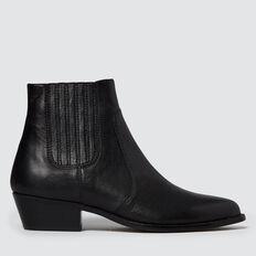 Jane Western Boot  BLACK  hi-res