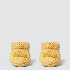 Knit Booties  PALE MUSTARD  hi-res