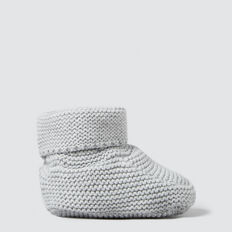 Knitted Bootie  BIRCH MARLE  hi-res