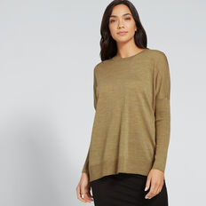 Babywool Comfy Sweater  DARK KHAKI MARLE  hi-res