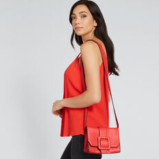 Square Buckle Sling  RED  hi-res