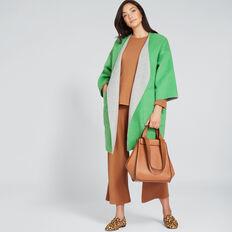 Reversible Coat  WASHED GREEN/GREY  hi-res