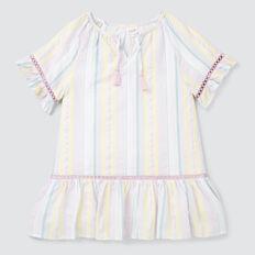 Rainbow Stripe Dress  MULTI  hi-res
