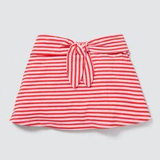 Stripe Jersey Skirt  APPLE RED/PINK FIZZ  hi-res