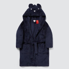 Bear Dressing Gown  MIDNIGHT BLUE  hi-res
