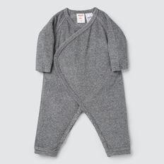 Terry Wrap Jumpsuit  SLATE MARLE  hi-res