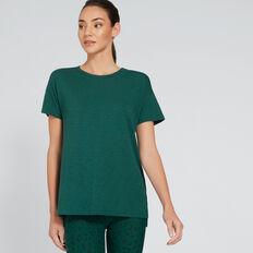 Short Sleeve Split Tee  IVY  hi-res