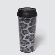 Reuseable Cup  GREY OCELOT  hi-res