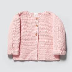 Chunky Knit Cardigan  PRETTY PINK  hi-res
