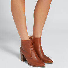 Georgia Block Heel Boot  TOFFEE  hi-res
