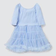 Tiered Tutu Dress  SKY BLUE  hi-res
