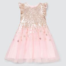 Sequin Star Dress  ICE PINK  hi-res