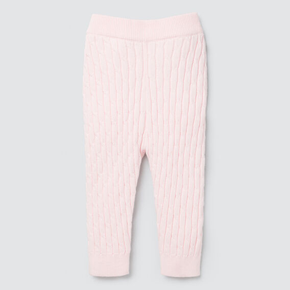 Cable Knit Legging  ICE PINK  hi-res