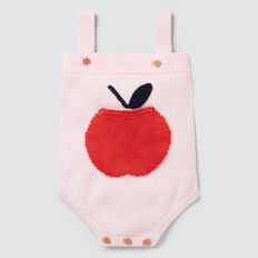 Apple Pocket Romper  ICE PINK  hi-res