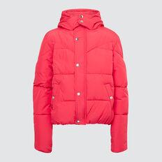 Puffa Jacket  CHERI RED  hi-res