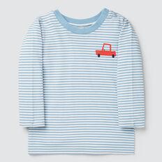 Stripe Car Tee  CLOUD BLUE  hi-res