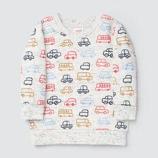 Car Yardage Sweater  VINTAGE SPACE DYE  hi-res