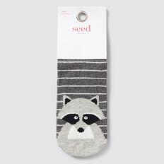 Racoon Socks  CHARCOAL MARLE  hi-res