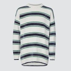 Stripe Sweater  MULTI  hi-res