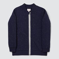 Zip Up Sweater  MIDNIGHT SPECKLE  hi-res