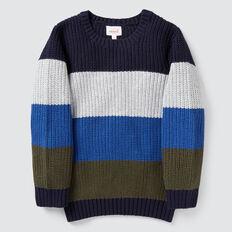 Colour Block Knit  MULTI  hi-res