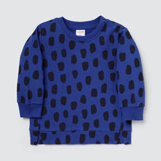 Ocelot Sweater  DEEP COBALT  hi-res