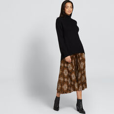 Pleated Skirt  PAISLEY  hi-res
