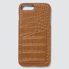 Pocket Phone Case 6+/7+/8+  CROC  hi-res