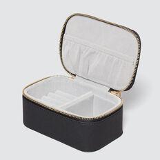 Mini Jewellery Case  BLACK  hi-res
