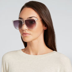 Nicola Flat Top Sunglasses  CLEAR  hi-res