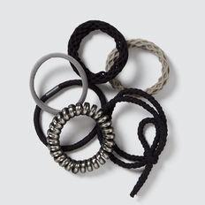 Mixed Hair Tie Pack  MULTI  hi-res