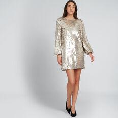Sequin Dress  SILVER  hi-res