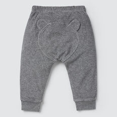 Novelty Bum Terry Trackie  SLATE MARLE  hi-res